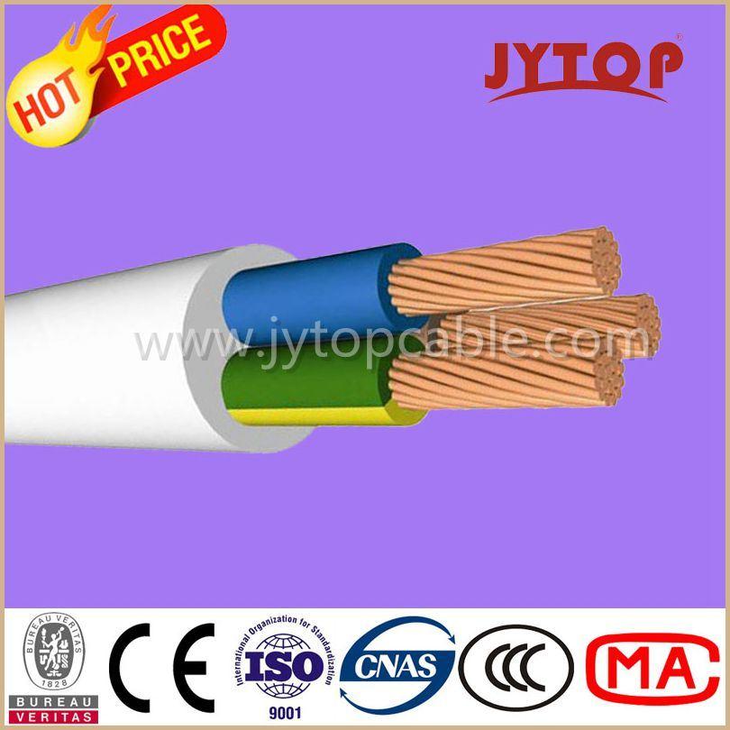 H05VV-F (TTR) Copper Wire, PVC Insulated Multi-Core Cables with Flexible Copper Conductor