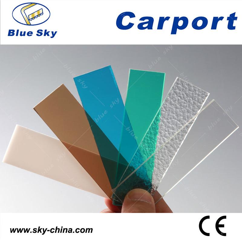 Y Shape Polycarbonate Sheet Carport for Car Parking (B810)