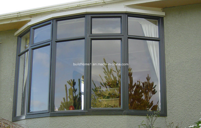china custom curved fixed top aluminium doors and windows