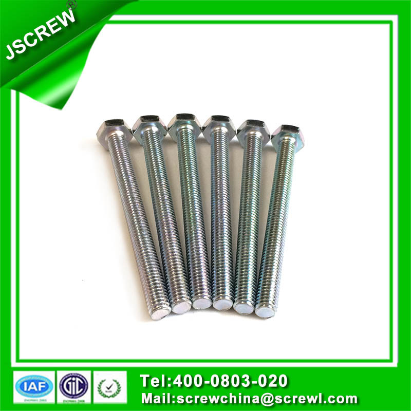 Carbon Steel 10mm Hex Head Bolts with Full Thread