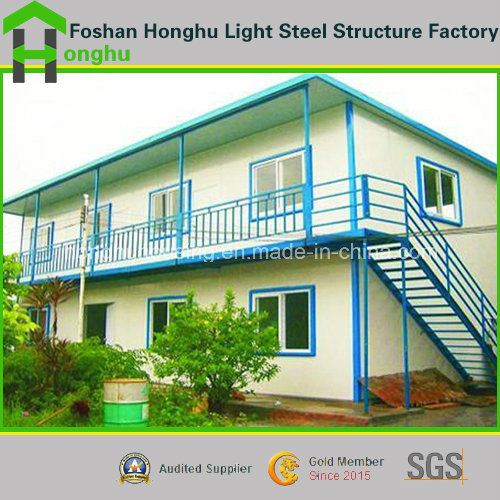 Steel Prefab House Apartment Building