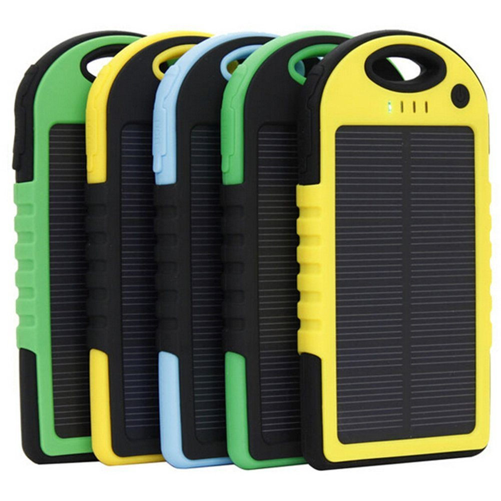 8000mAh Universal Portable Battery Solar Mobile Charger