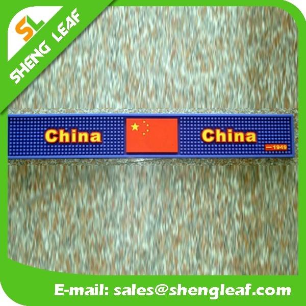 Popular Hot Sale Soft PVC Rubber Bar Mat (SLF-BM054)