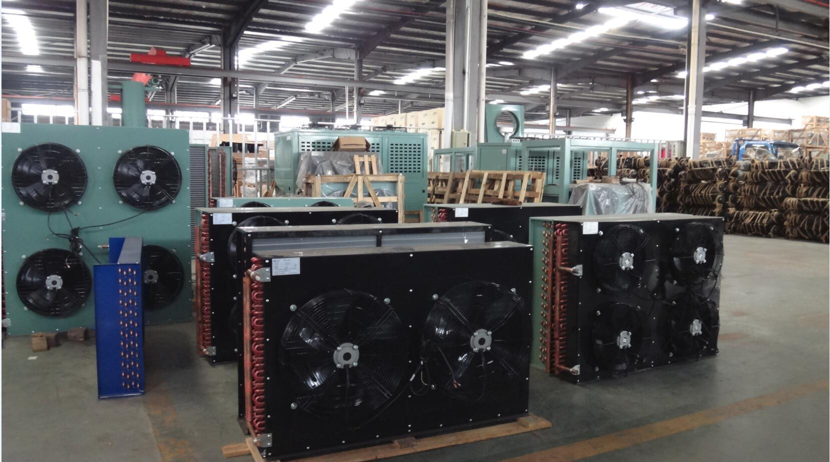China Hot Sale Fin Type Cooper Tube Air Cooled Condenser