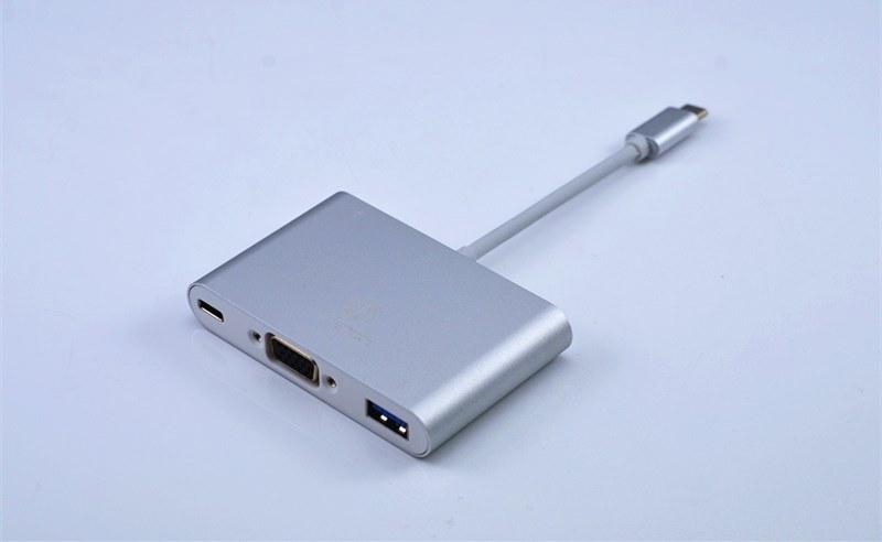 USB 3.1 Type C to VGA Dongle