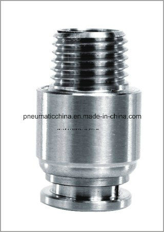 Stainless Steel Push in Fitting Ss316 or Ss304 From Pneumission