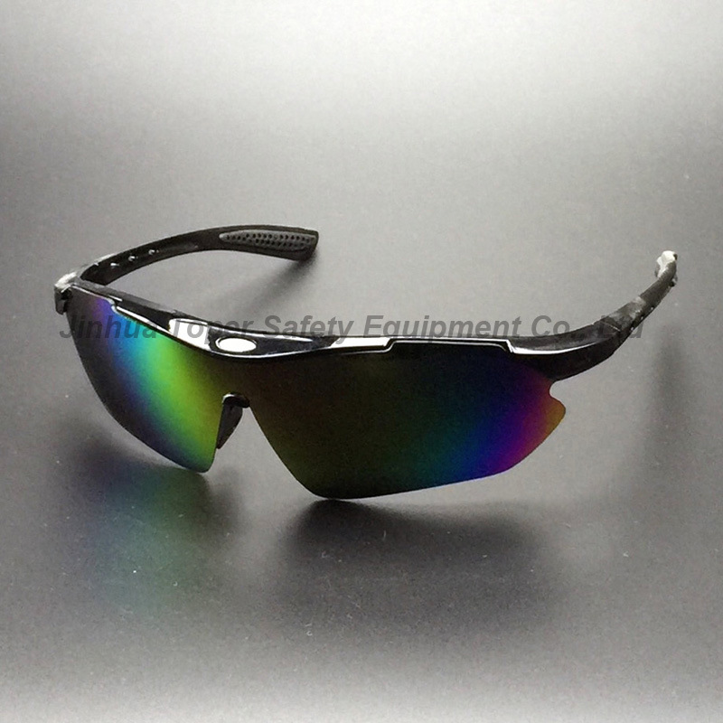 Rainbow Mirror Indoor/Outdoorl Lens Sunglasses with Soft Pad (SG115)