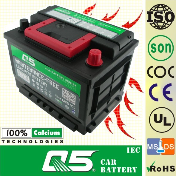 DIN55 MF, China OEM 12V 55ah Rocket Batteries Model Family car battery European car battery
