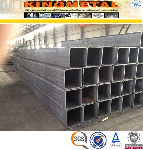 50X50 Q195 ERW Ms Square Pipe Tube Price