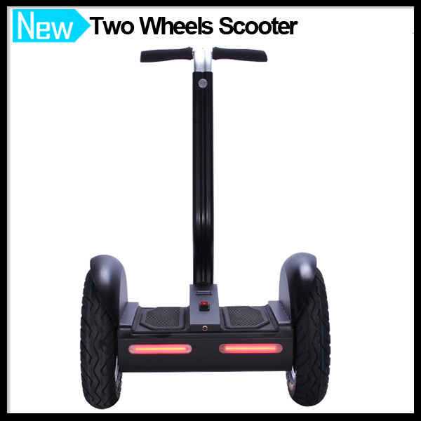 LED Lights Electric Transporter Scooter Self Balancing Car E-Bicycle