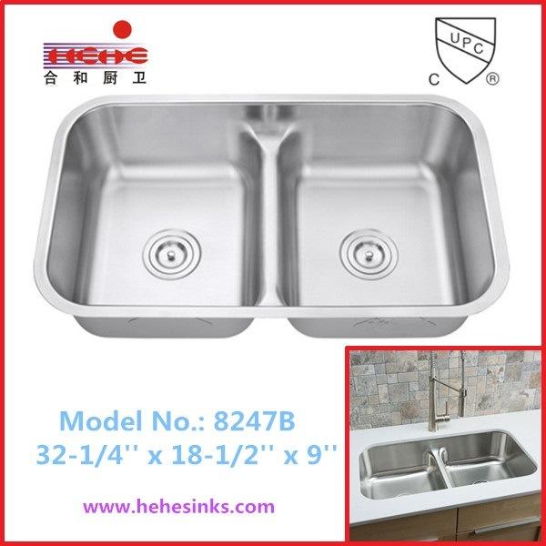 New Design 8247 Stainless Steel Sink, Kitchen Sink, Wash Sink