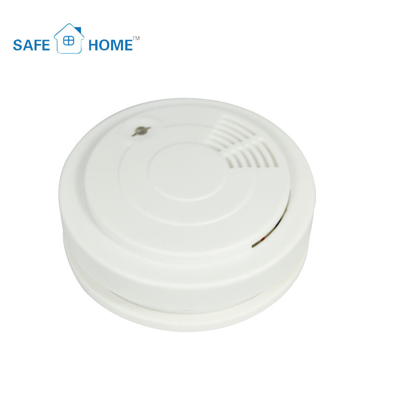 9V Battery Operated Conventional Smoke Alarm for Home Security System