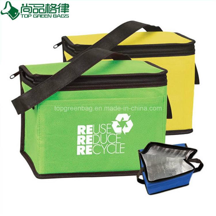 Durable Fitness Cheap Insulated Eco Polyethylene Non Woven Cooler Bag