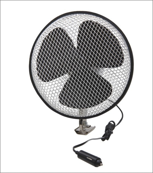 DC 12V/24V Mesh Metal Car Fan (WIN-108)