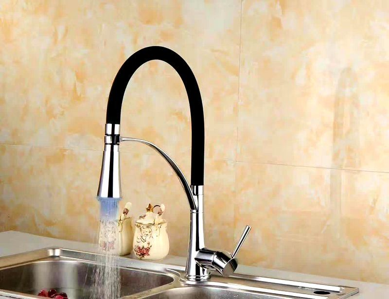 GS-36066 Kitchen Faucet Single Lever Pull Down Kitchen Faucet Barss Faucet
