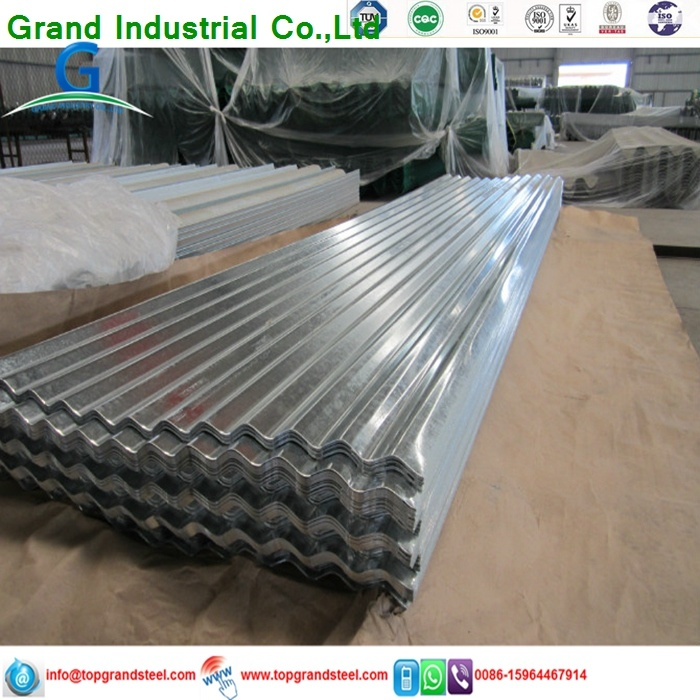 Profiled Corrugated Wavy Galvanized  Metal Zinc  Roofing  Prices 11