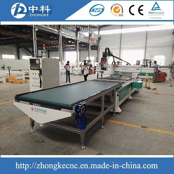 Furniture Producing Line Wood Cabinets CNC Router