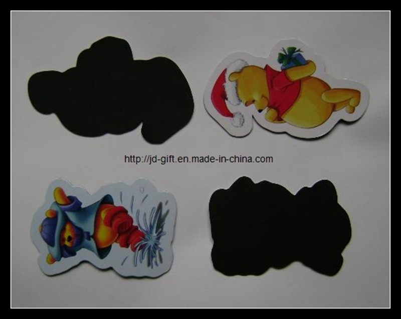 Die-Cut Carton Paper Fridge Magnet as Popular Children Magnet Toy