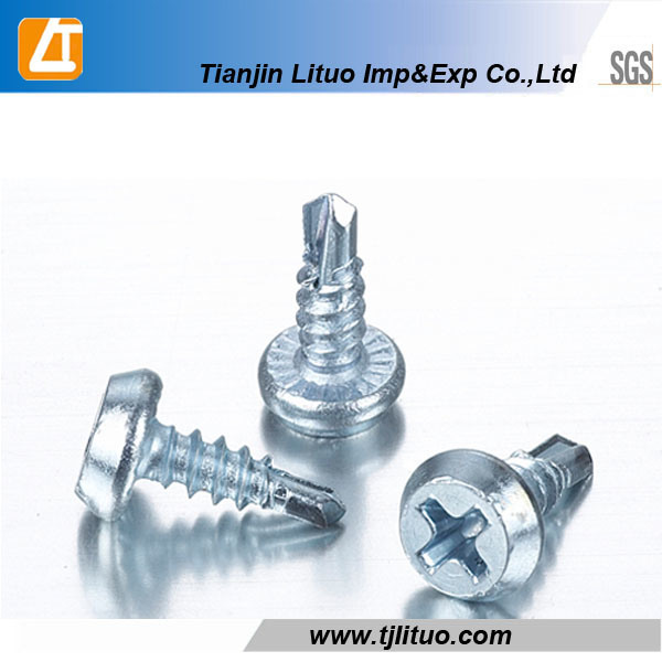 Black Phosphated Pan Framing Head Self Tapping Screw