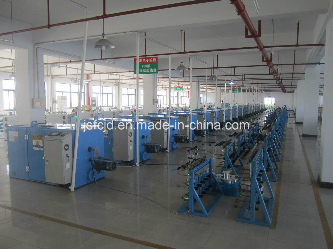 Nickel Alloy Wire Cabling Twisting Bunching/Stranding Machine (FC-250B)
