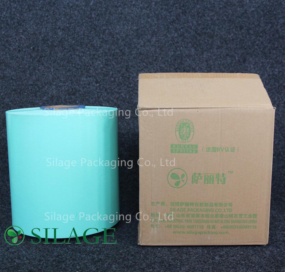 250mm*25um Blown Silage Wrap Bale Wrap Green Color Film