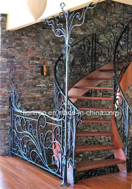 Hot-Sales Interior Iron Stair Railing