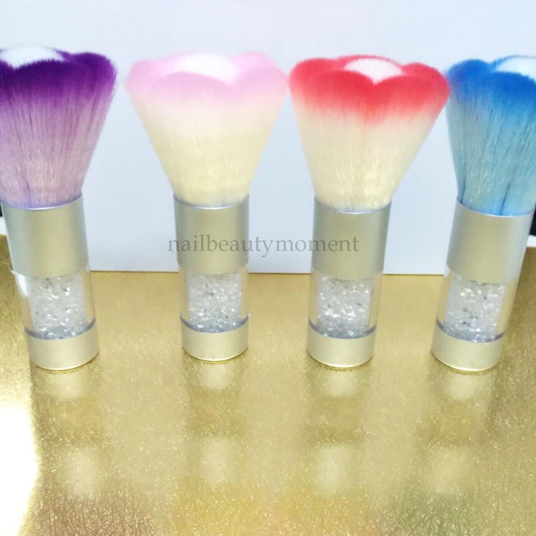 Nylon Nail Art Flower Shape Dust Cleaning Brush (B047)
