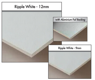 Vinyclad Gypsum Aluminium Foil Backed Ceiling Tiles Size 1200 X 600mm / 600 X 600mm