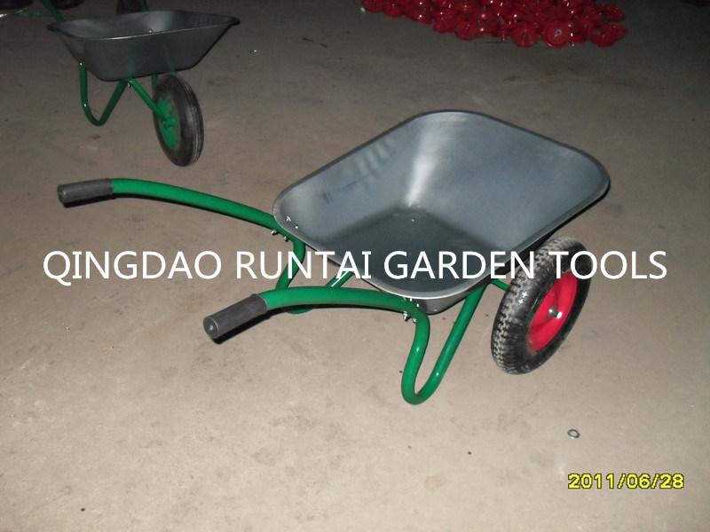 Most Cheap Zinc Tray Wheelbarrow (Wb6407)