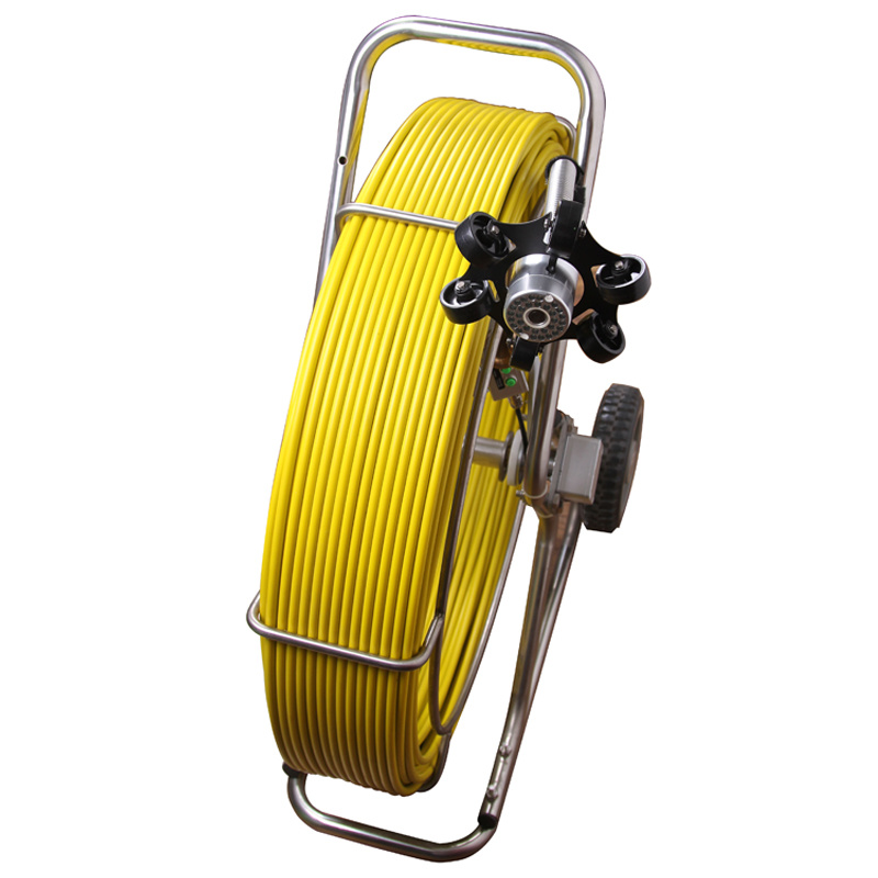 Pipe Inspection Camera System with 120m Fiberglass Cable 7Y