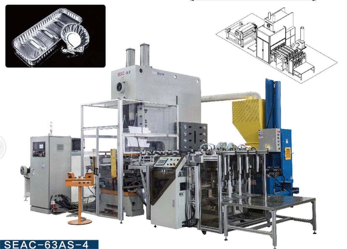 Aluminum Foil Machine