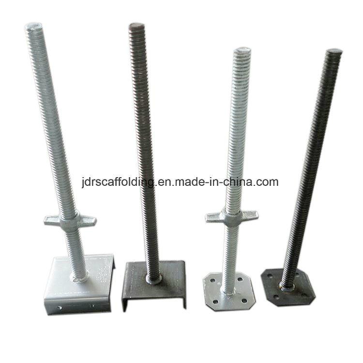 Solid Adjustable Screw Base Jack for Scaffolding Shoring