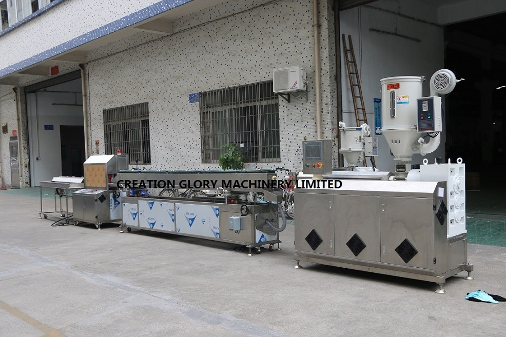 Leading Technology High Precision Medical Tubing Plastic Extruder Machine