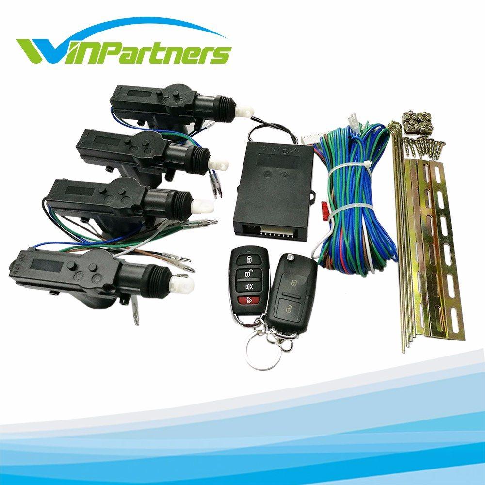Car Remote Central Door Lock Kit Locking Keyless Entry System