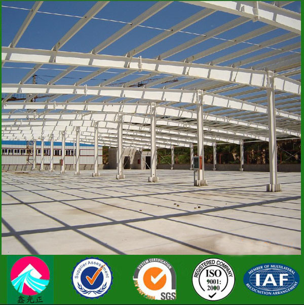 Wide Span Steel Structure Warehouse for Sale