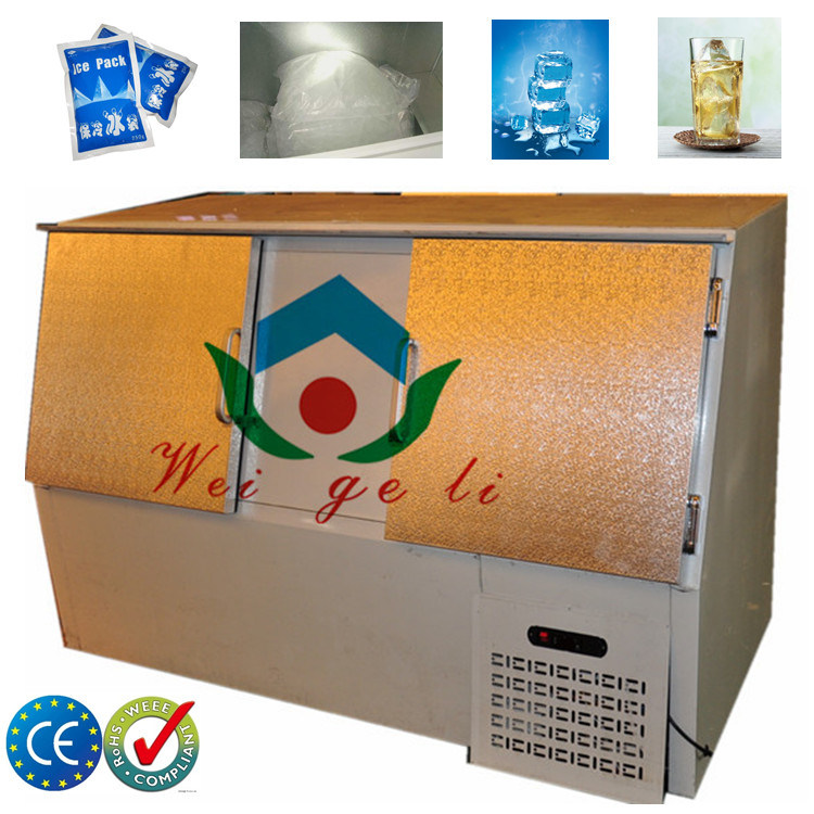 CE Slant Doors Outdoor Ice Merchandiser with 400L (DC-400)