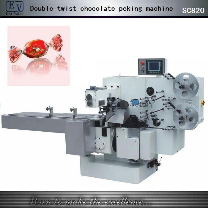 Double Twist Chocolate Packing Machine (SC820)