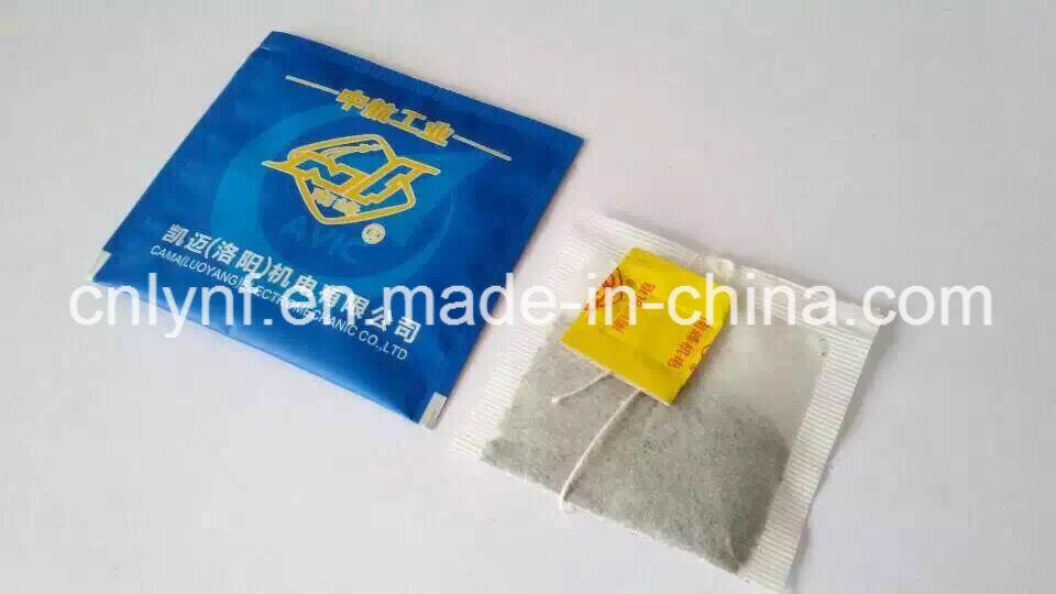 Ukraine Customer Tea Bag Sample with Paper Box for Model Dxdc15 Tea Bag Machine Heat Sealing of Envelope