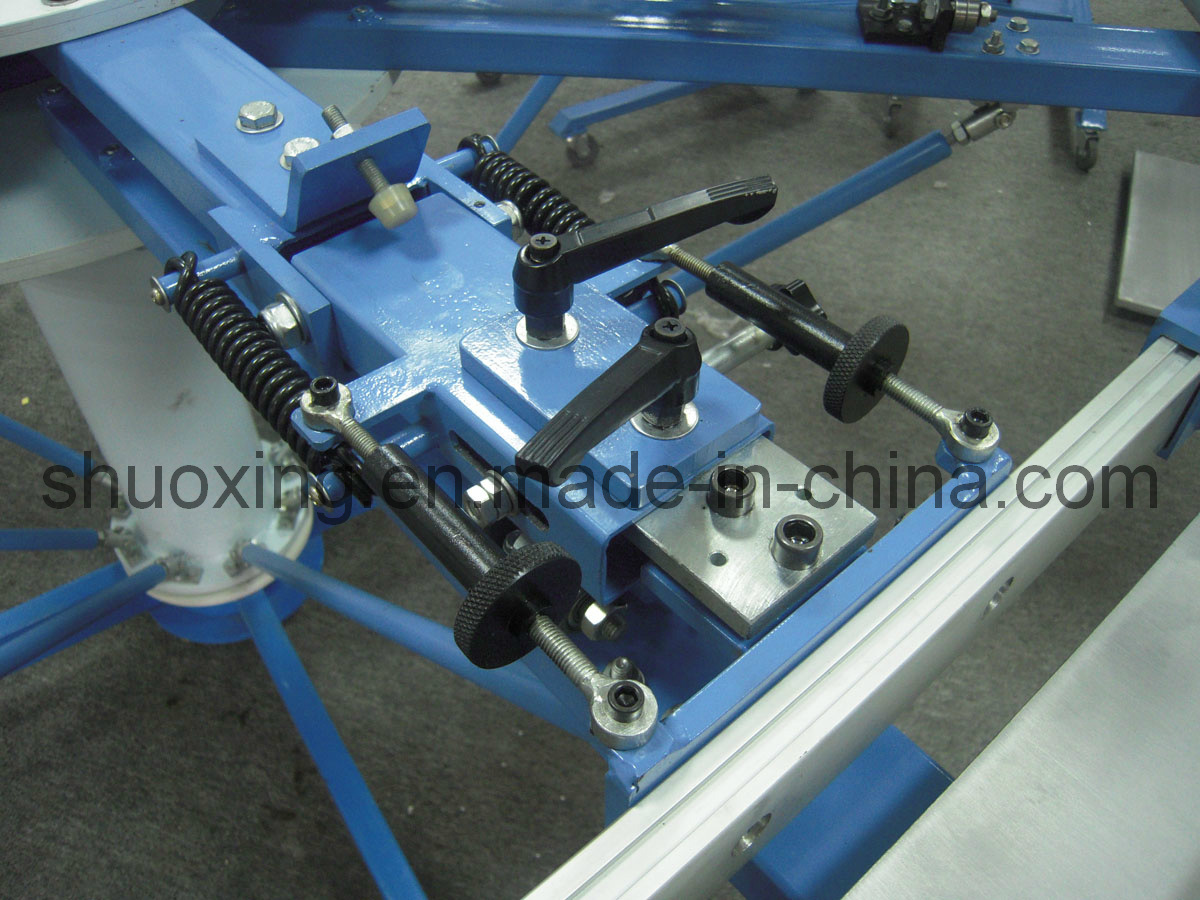 Manual T-Shirt Silk Screen Printing Machine (Side clamp system)