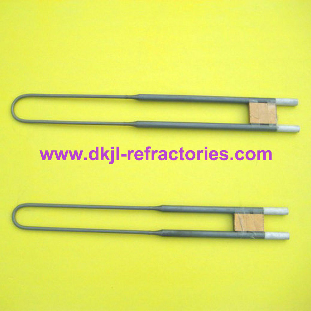 High Temperature Industrial Furnace Heating Elements Mosi2 Heaters