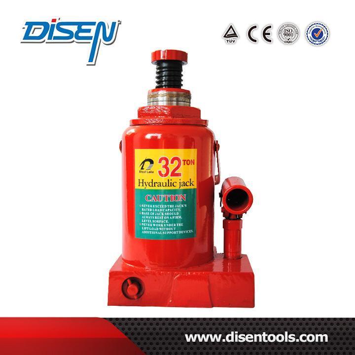 32 Ton Nodular Cast Iron Hydraulic Bottle Jack