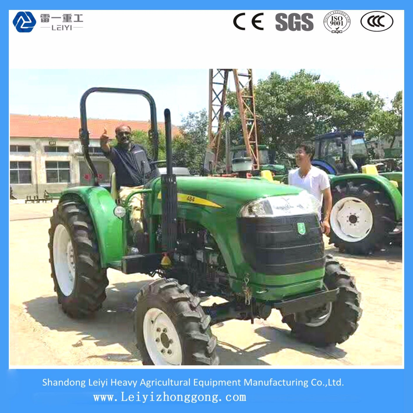 40HP-200HP Agricultural Wheeled Tractor, Farm Tractor, Compact Tractor with 2 Wd & 4 Wd