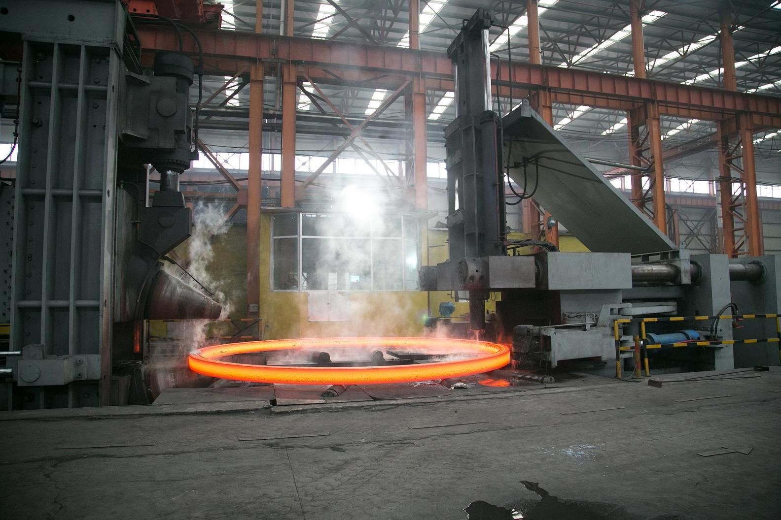 Forging Flanges for Wind Power Tower