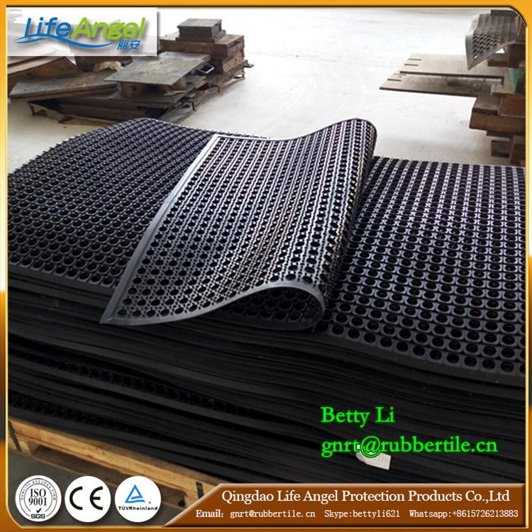 Drainage Rubber Kitchen Mat Cheap Interlocking Floor Mats