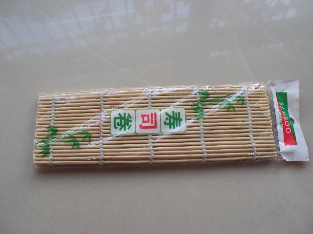 Nature Bamboo Sushi Mat (QW-DSC9056)