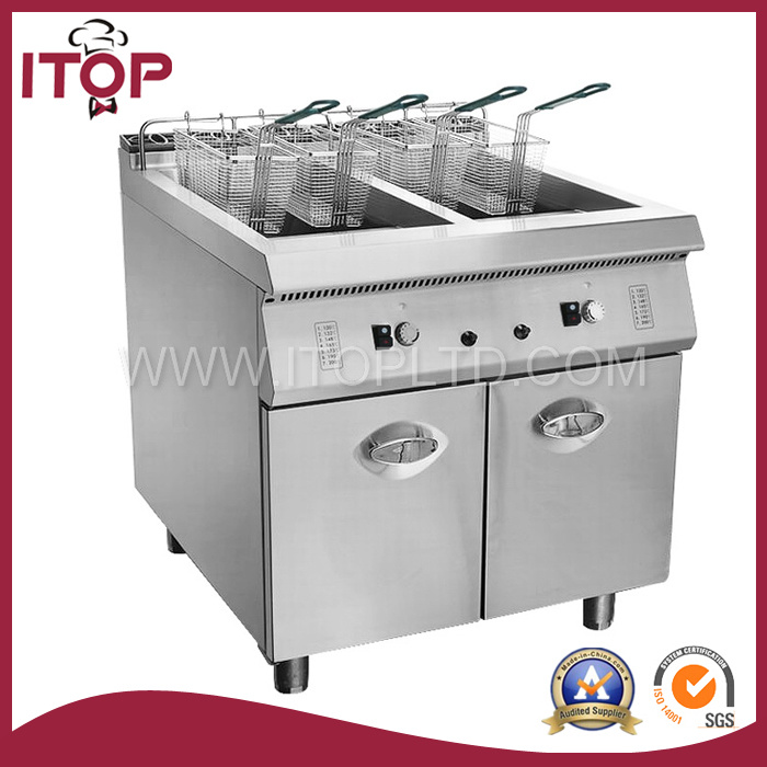 Freestanding Gas Fryer with Cabinet (XR900-RZ)
