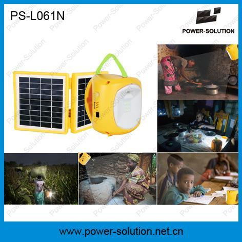 Portable LED Solar Lantern Light for Outdoor Camp