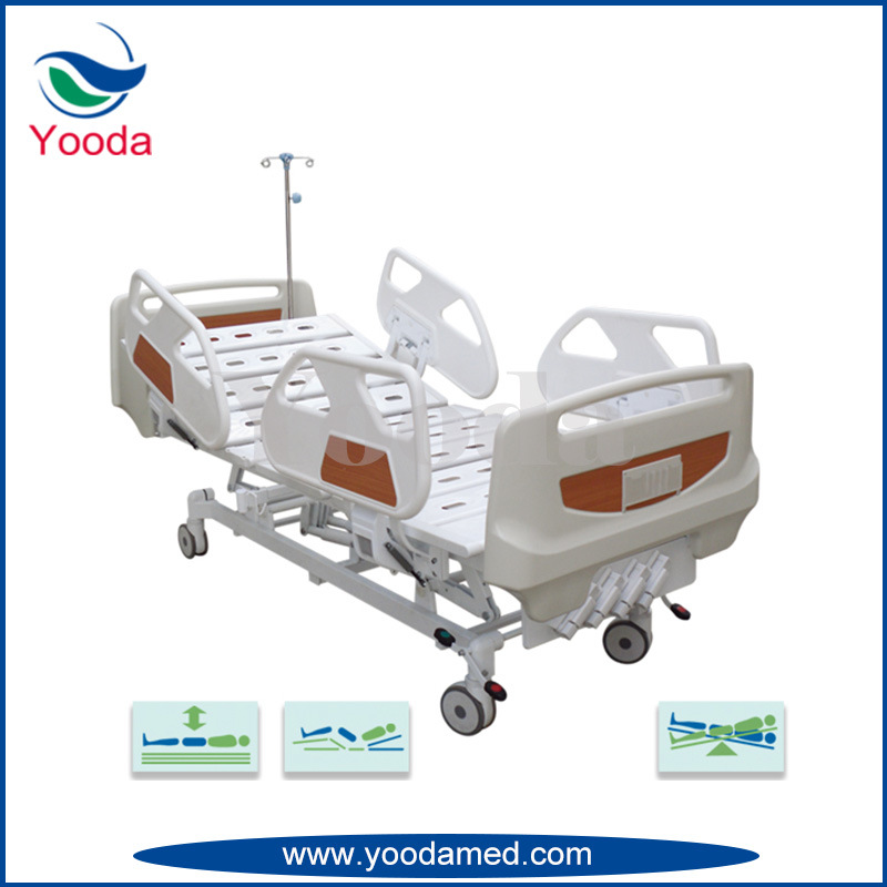3 Crank Hospital Medical Manual Hospital Bed