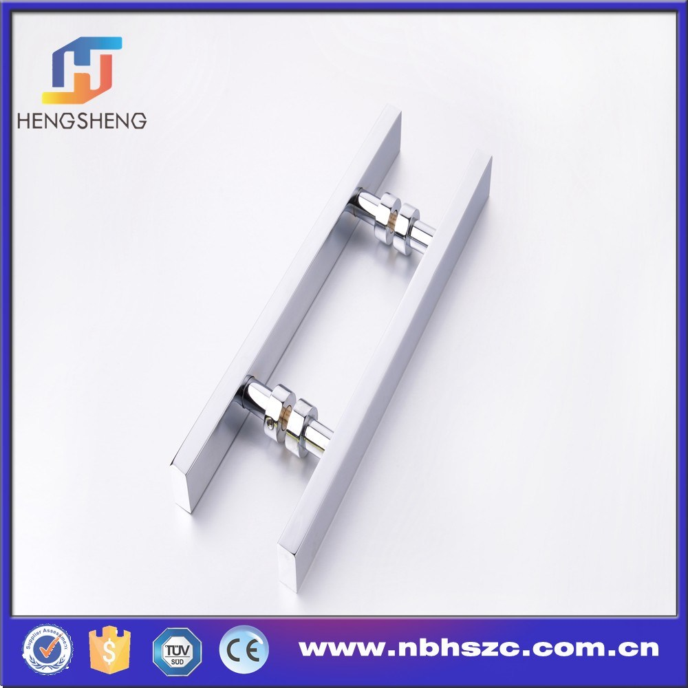 Aluminum Door Fittings Modern Design 220mm Shower Door Handle