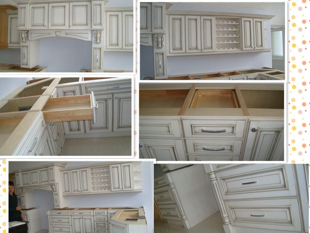 Guanjia MDF Lacqure Kitchen Furnitures Kc-033